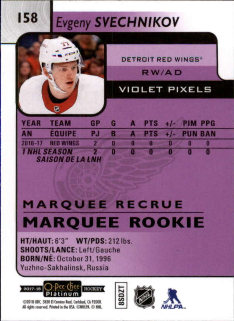2017-18-O-Pee-Chee-Platinum-Hockey-Violet-Pixel-Singles-Pick-Your-Cards miniature 19