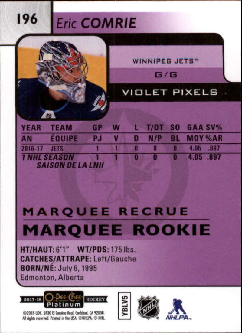 2017-18-O-Pee-Chee-Platinum-Hockey-Violet-Pixel-Singles-Pick-Your-Cards miniature 25