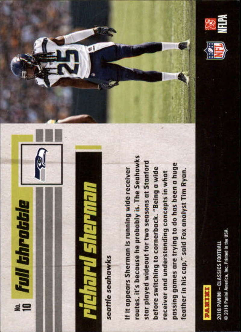 2018-Panini-Classics-Football-Gold-Parallel-Singles-99-Pick-Your-Cards thumbnail 9