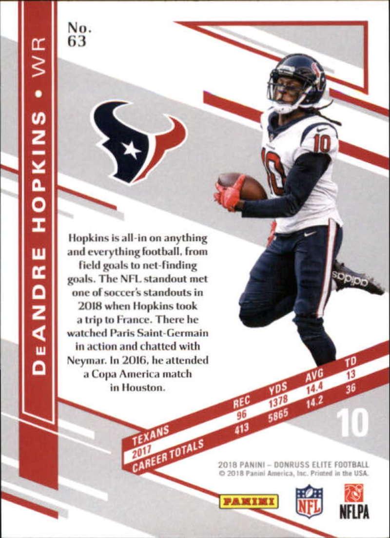 2018-Donruss-Elite-Football-Base-Singles-Pick-Your-Cards thumbnail 117