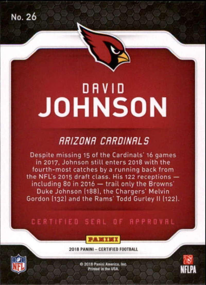 2018-Panini-Certified-Football-Insert-Singles-Pick-Your-Cards miniature 35