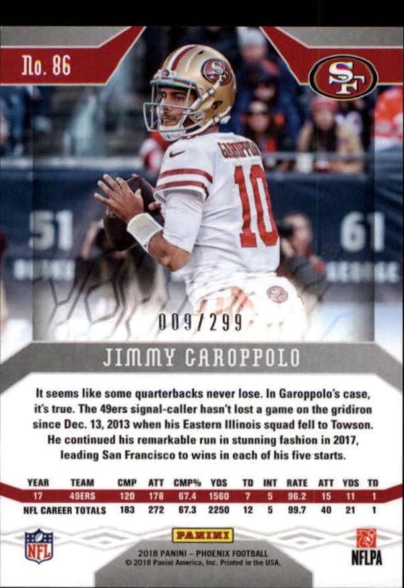 2018-Panini-Phoenix-Football-Red-Parallel-Singles-299-Pick-Your-Cards thumbnail 31