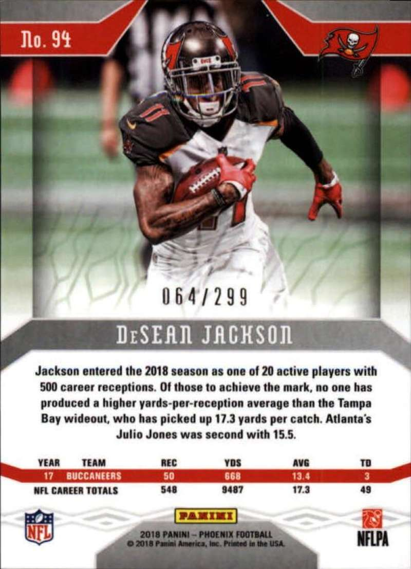 2018-Panini-Phoenix-Football-Red-Parallel-Singles-299-Pick-Your-Cards thumbnail 33