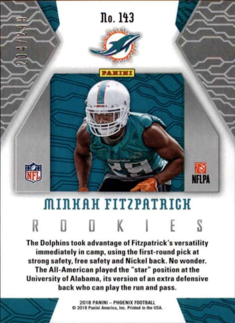 2018-Panini-Phoenix-Football-Red-Parallel-Singles-299-Pick-Your-Cards thumbnail 41