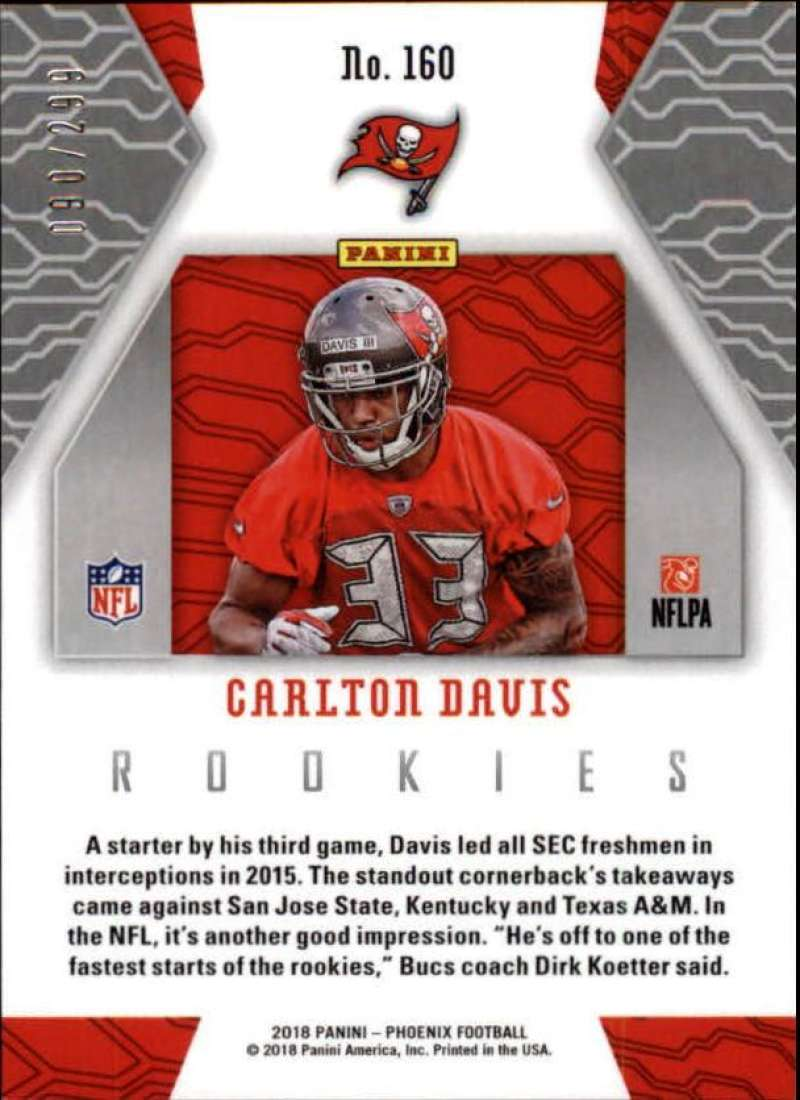 2018-Panini-Phoenix-Football-Red-Parallel-Singles-299-Pick-Your-Cards thumbnail 45
