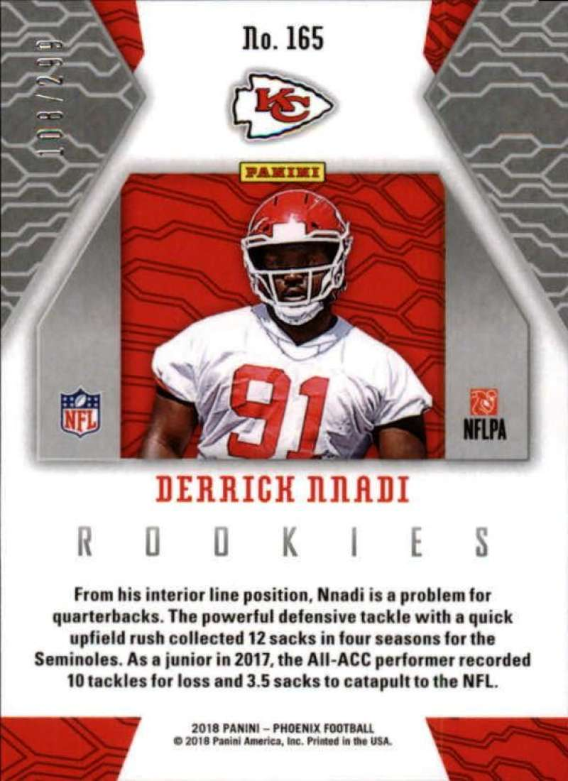 2018-Panini-Phoenix-Football-Red-Parallel-Singles-299-Pick-Your-Cards thumbnail 49