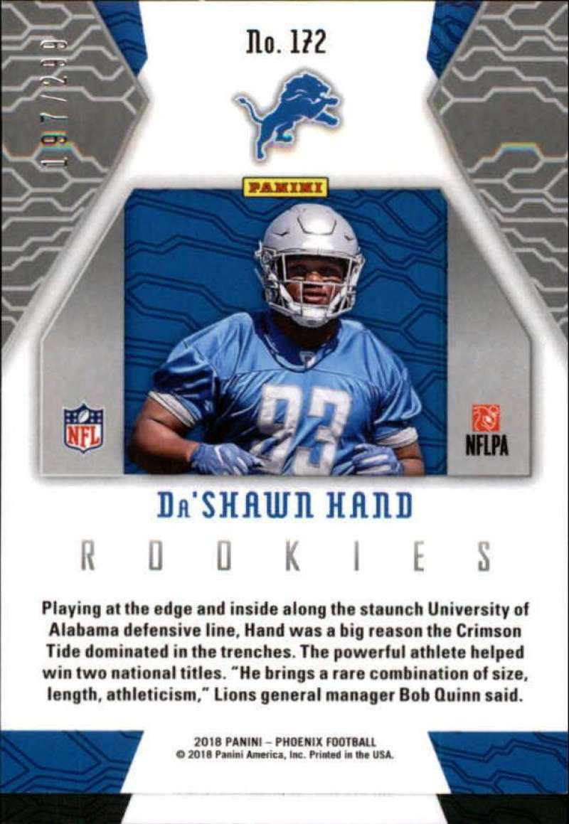 2018-Panini-Phoenix-Football-Red-Parallel-Singles-299-Pick-Your-Cards thumbnail 57