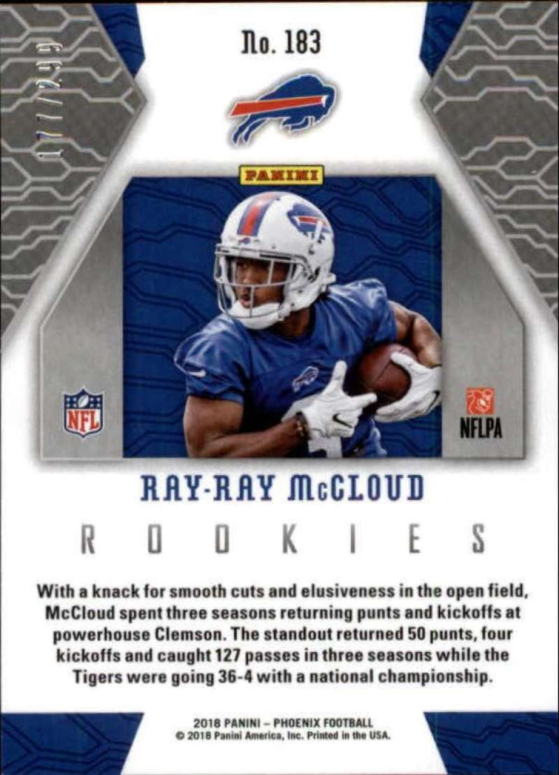 2018-Panini-Phoenix-Football-Red-Parallel-Singles-299-Pick-Your-Cards thumbnail 63