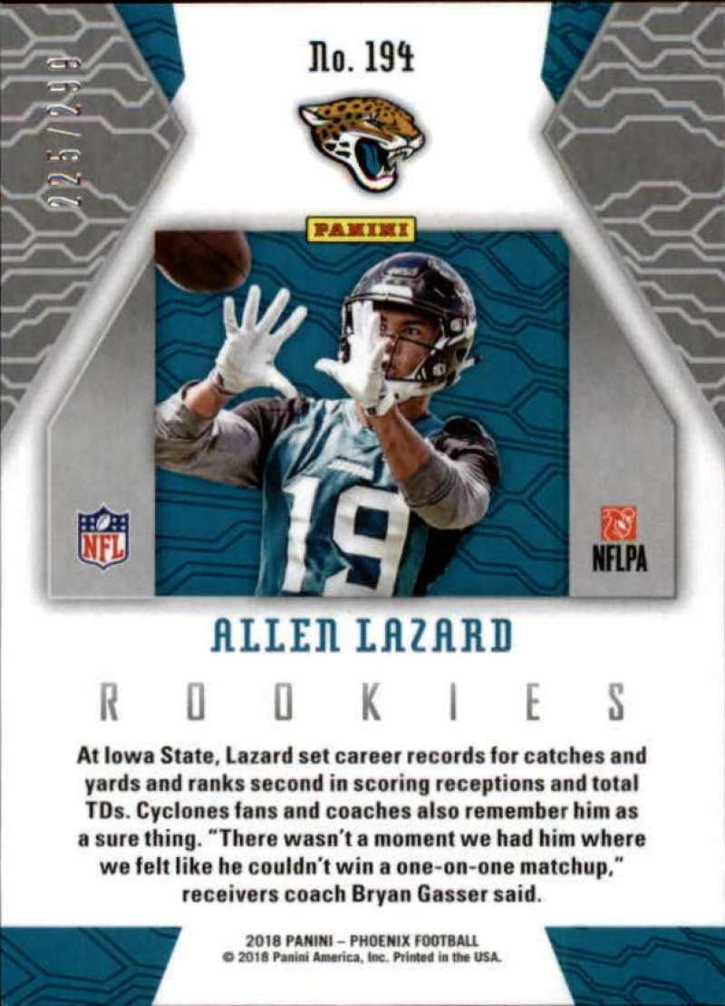 2018-Panini-Phoenix-Football-Red-Parallel-Singles-299-Pick-Your-Cards thumbnail 65