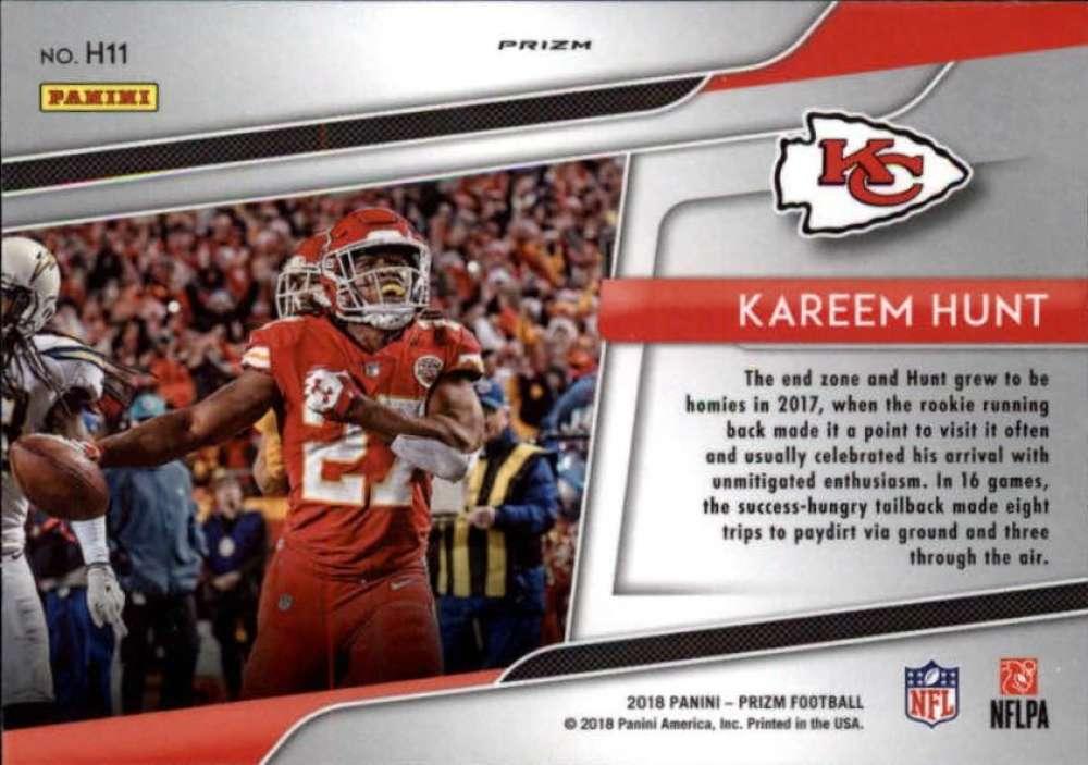 2018-Panini-Prizm-NFL-Football-Green-Prizm-Insert-Singles-Pick-Your-Cards miniature 13