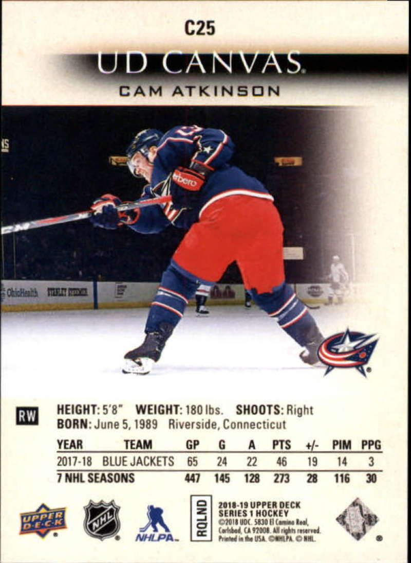 2018-19-Upper-Deck-Series-1-NHL-Hockey-Canvas-Singles-Pick-Your-Cards miniature 17