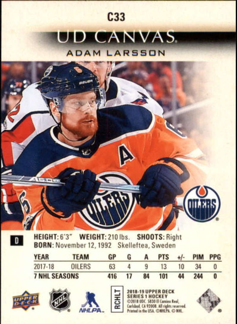 2018-19-Upper-Deck-Series-1-NHL-Hockey-Canvas-Singles-Pick-Your-Cards miniature 23