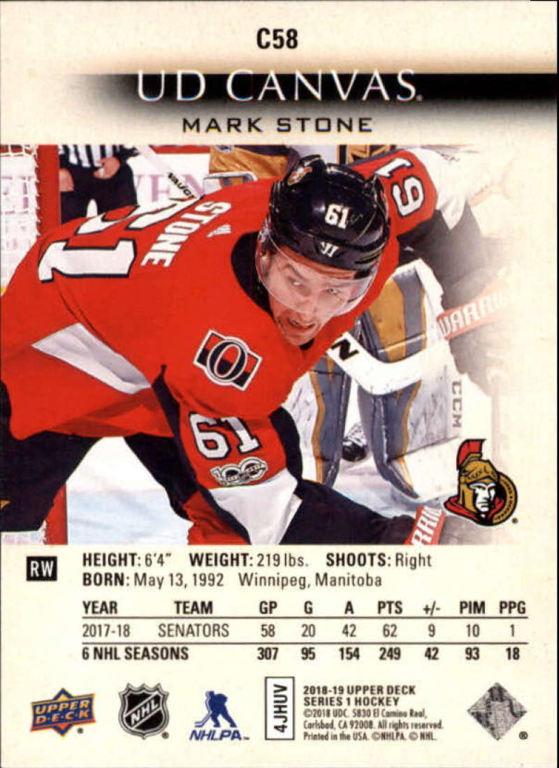 2018-19-Upper-Deck-Series-1-NHL-Hockey-Canvas-Singles-Pick-Your-Cards miniature 51