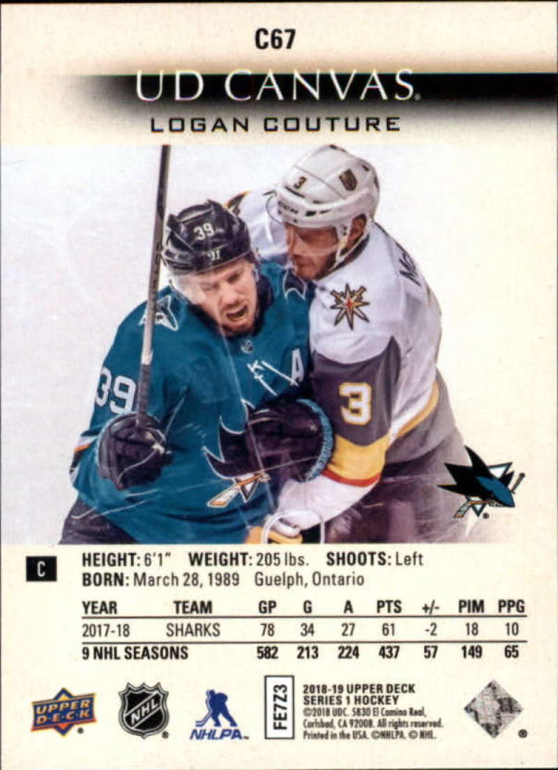 2018-19-Upper-Deck-Series-1-NHL-Hockey-Canvas-Singles-Pick-Your-Cards miniature 61
