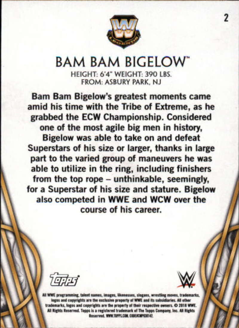 2018-Topps-Legends-of-WWE-Wrestling-Bronze-Singles-Pick-Your-Cards thumbnail 5