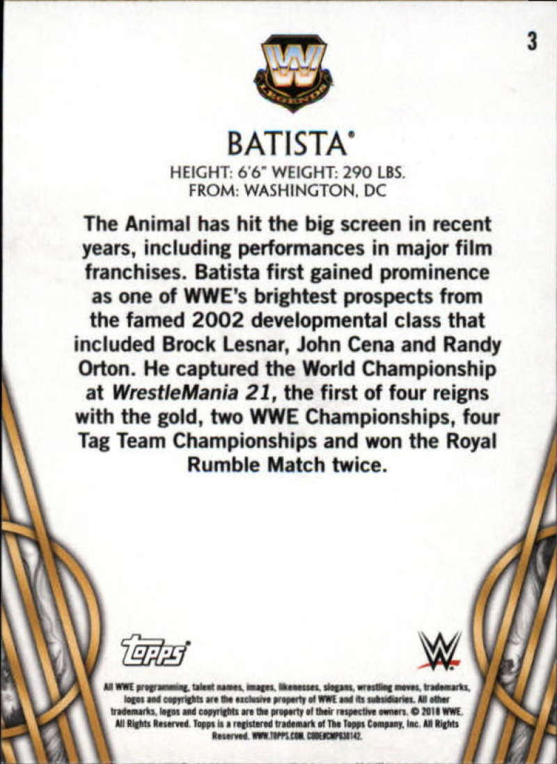 2018-Topps-Legends-of-WWE-Wrestling-Bronze-Singles-Pick-Your-Cards thumbnail 7