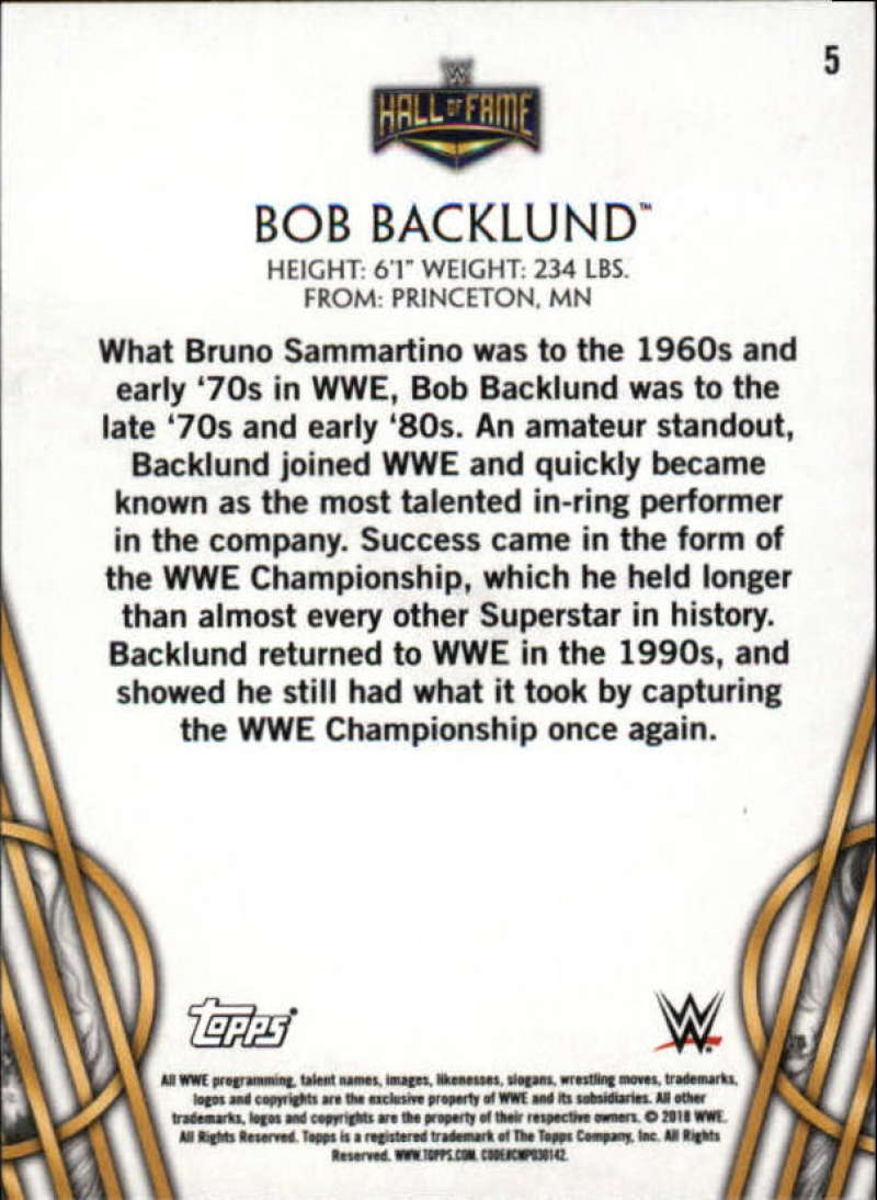 2018-Topps-Legends-of-WWE-Wrestling-Bronze-Singles-Pick-Your-Cards thumbnail 11