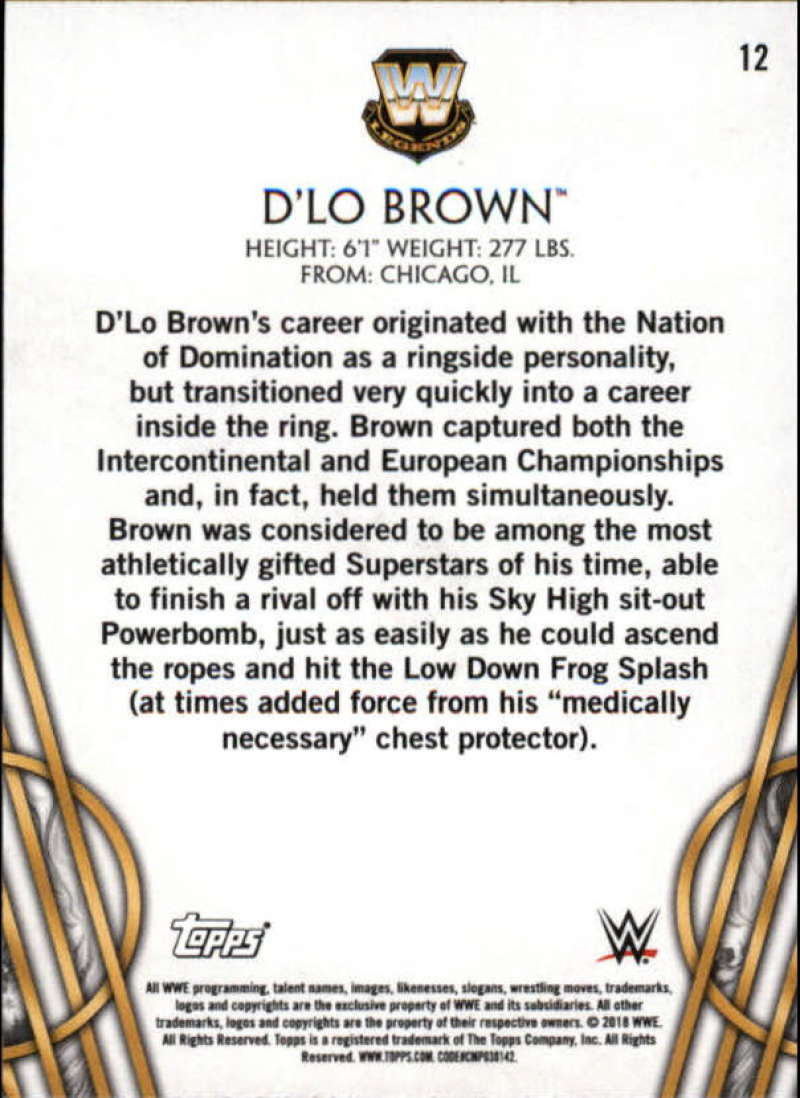 2018-Topps-Legends-of-WWE-Wrestling-Bronze-Singles-Pick-Your-Cards thumbnail 25