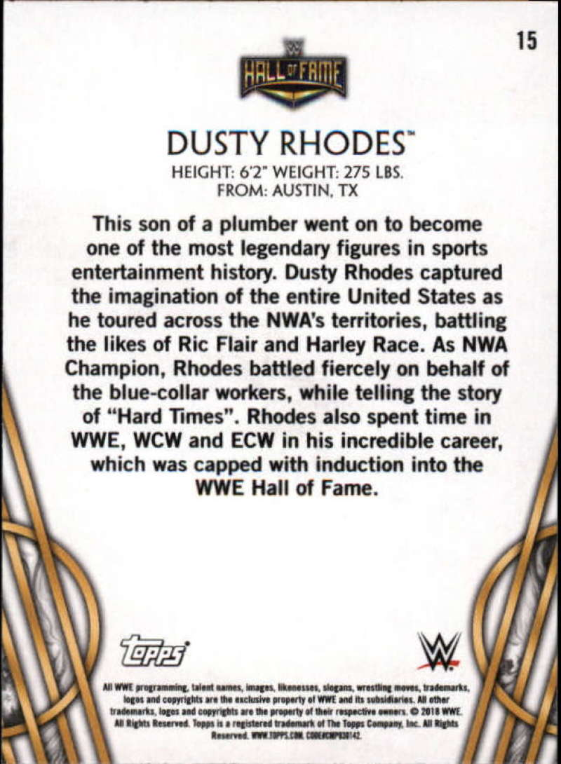 2018-Topps-Legends-of-WWE-Wrestling-Bronze-Singles-Pick-Your-Cards thumbnail 31