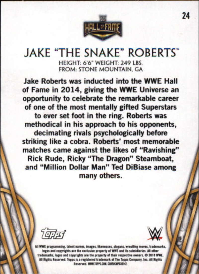 2018-Topps-Legends-of-WWE-Wrestling-Bronze-Singles-Pick-Your-Cards thumbnail 41