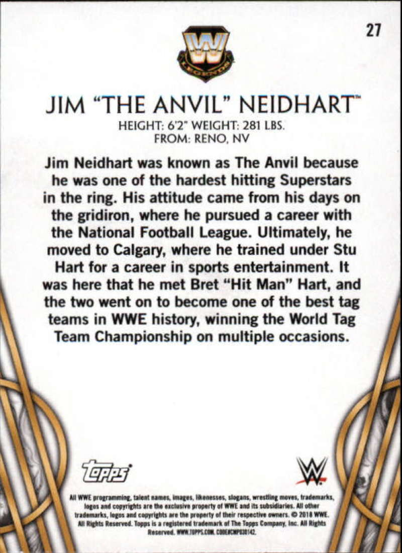 2018-Topps-Legends-of-WWE-Wrestling-Bronze-Singles-Pick-Your-Cards thumbnail 45