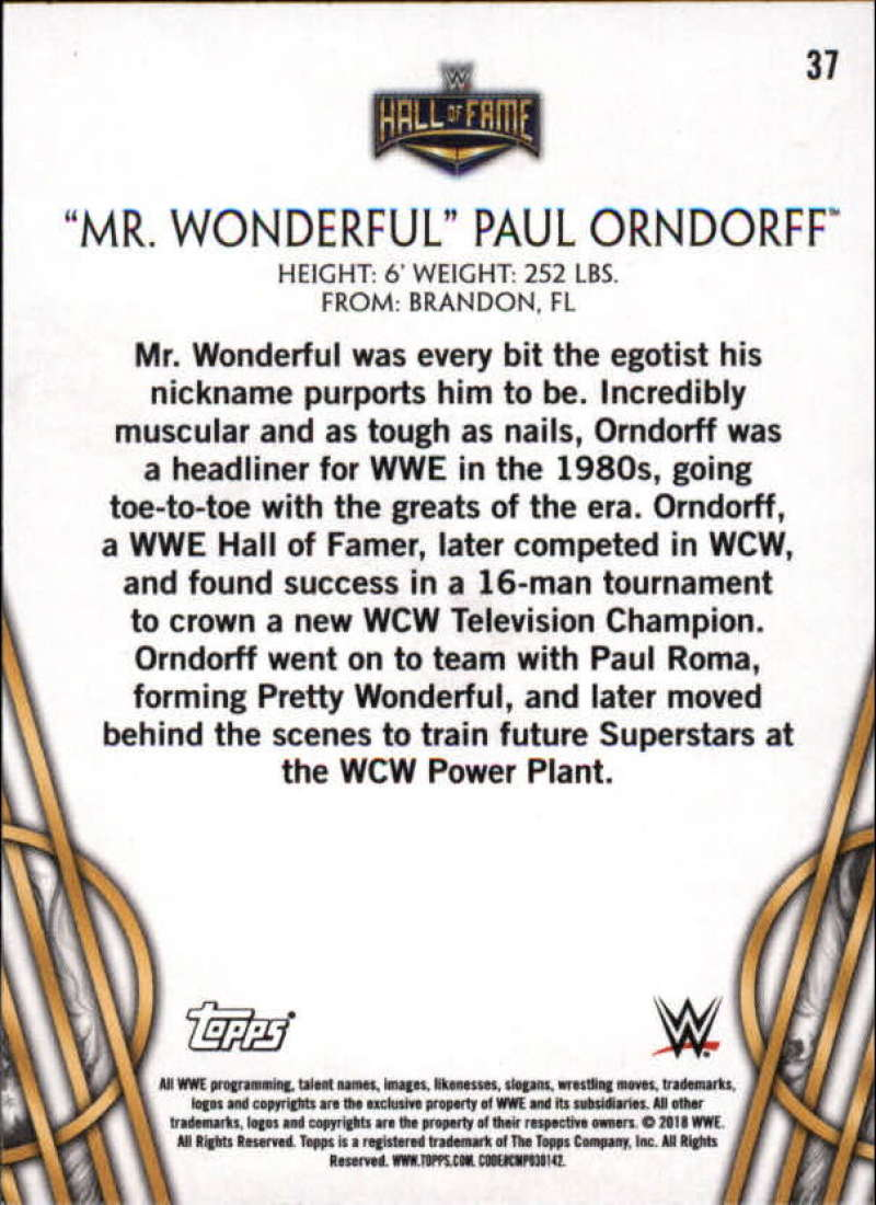 2018-Topps-Legends-of-WWE-Wrestling-Bronze-Singles-Pick-Your-Cards thumbnail 57