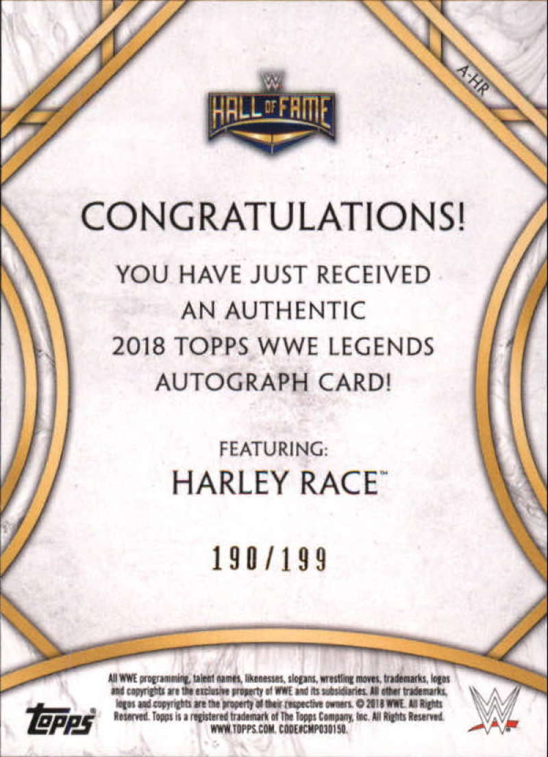 2018-Topps-Legends-of-WWE-Wrestling-Autograph-Singles-Pick-Your-Cards thumbnail 7