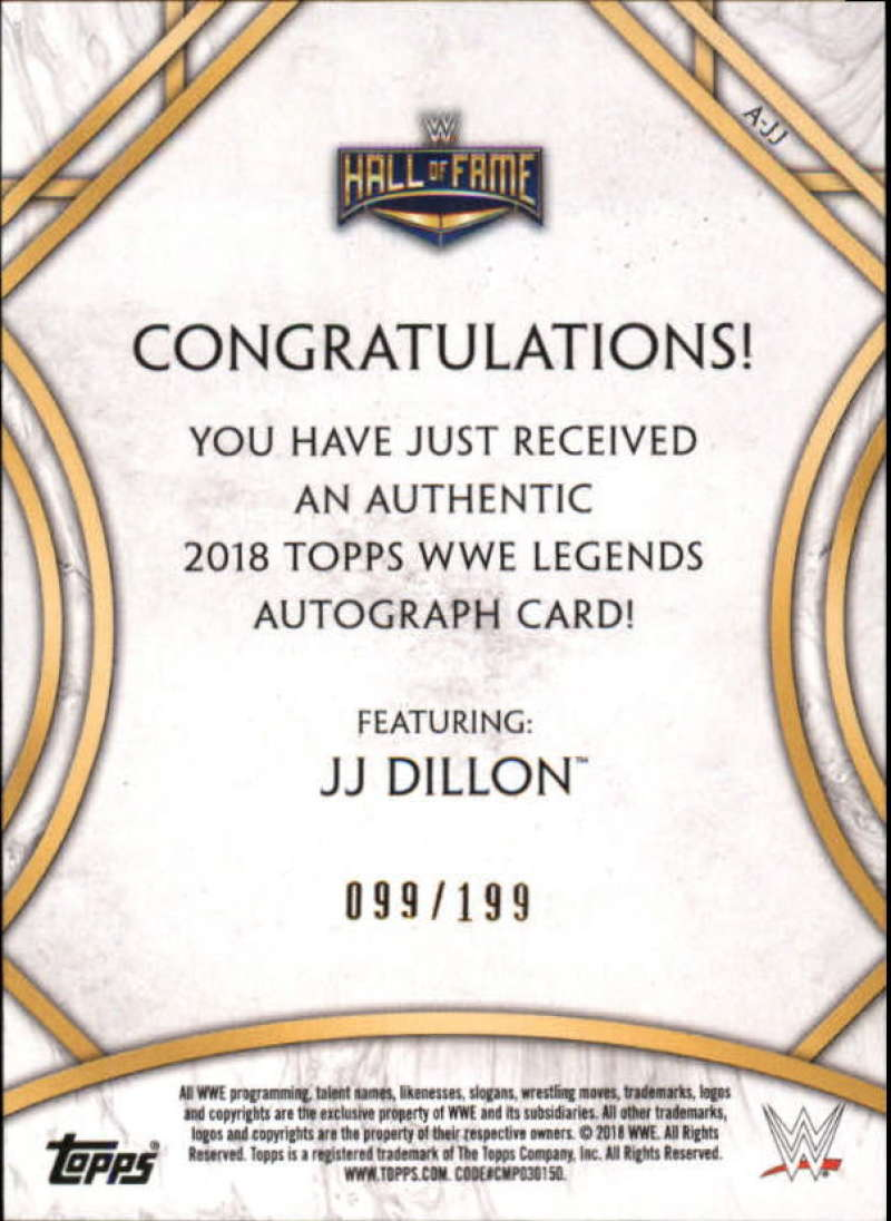 2018-Topps-Legends-of-WWE-Wrestling-Autograph-Singles-Pick-Your-Cards thumbnail 9