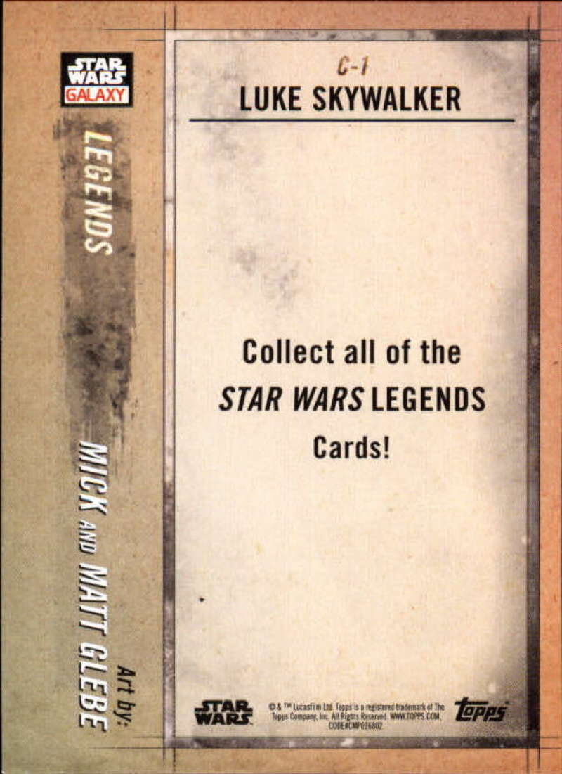 2018-Topps-Star-Wars-Galaxy-Legends-Insert-Singles-Pick-Your-Cards thumbnail 3