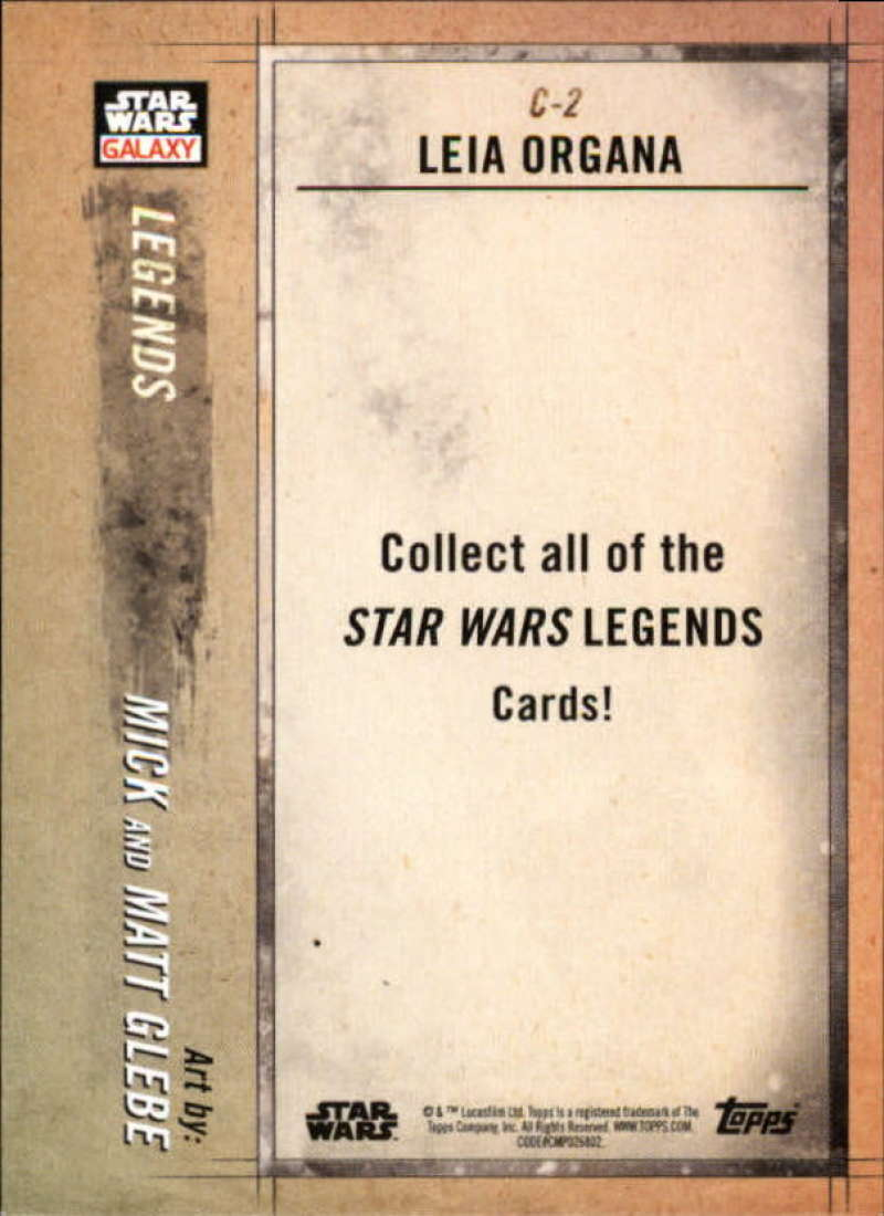 2018-Topps-Star-Wars-Galaxy-Legends-Insert-Singles-Pick-Your-Cards thumbnail 5