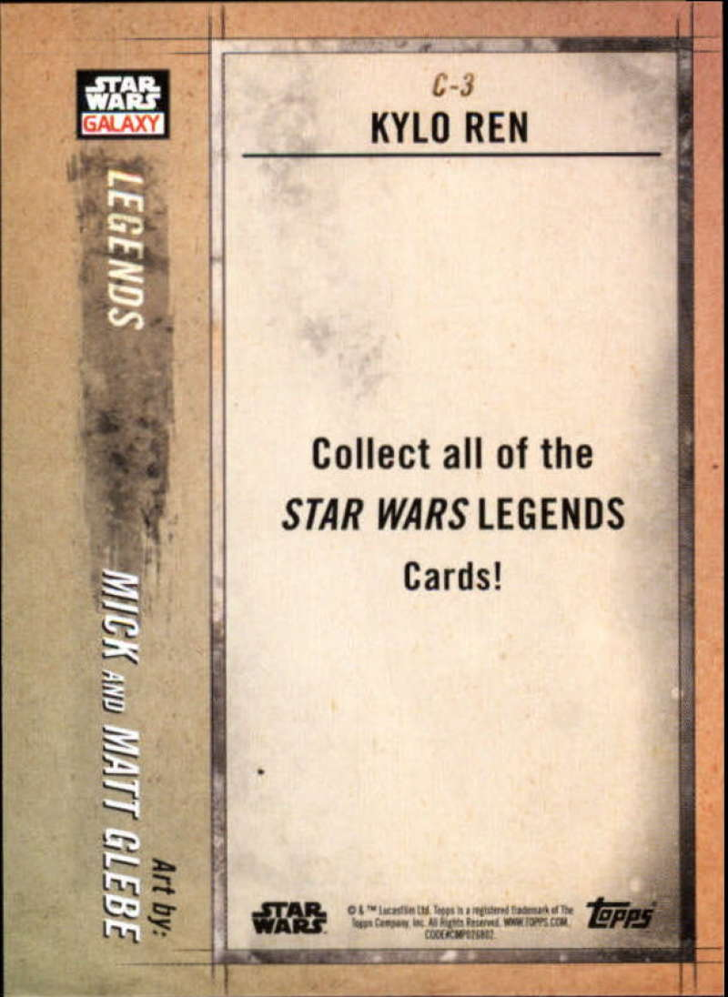 2018-Topps-Star-Wars-Galaxy-Legends-Insert-Singles-Pick-Your-Cards thumbnail 7