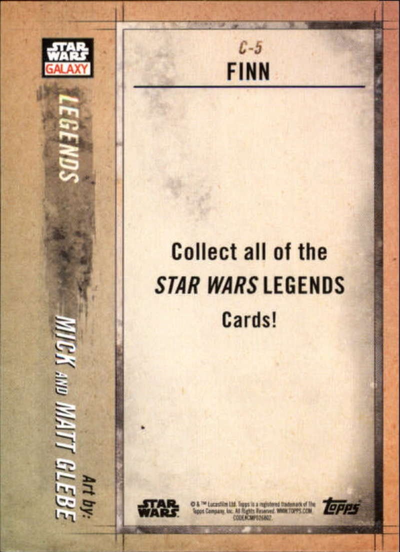 2018-Topps-Star-Wars-Galaxy-Legends-Insert-Singles-Pick-Your-Cards thumbnail 11