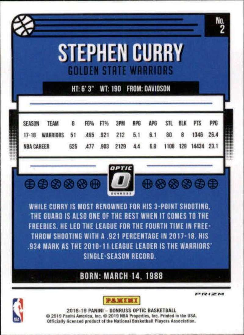 2018-19-Donruss-Optic-NBA-Basketball-Blue-Velocity-Singles-Pick-Your-Cards thumbnail 5