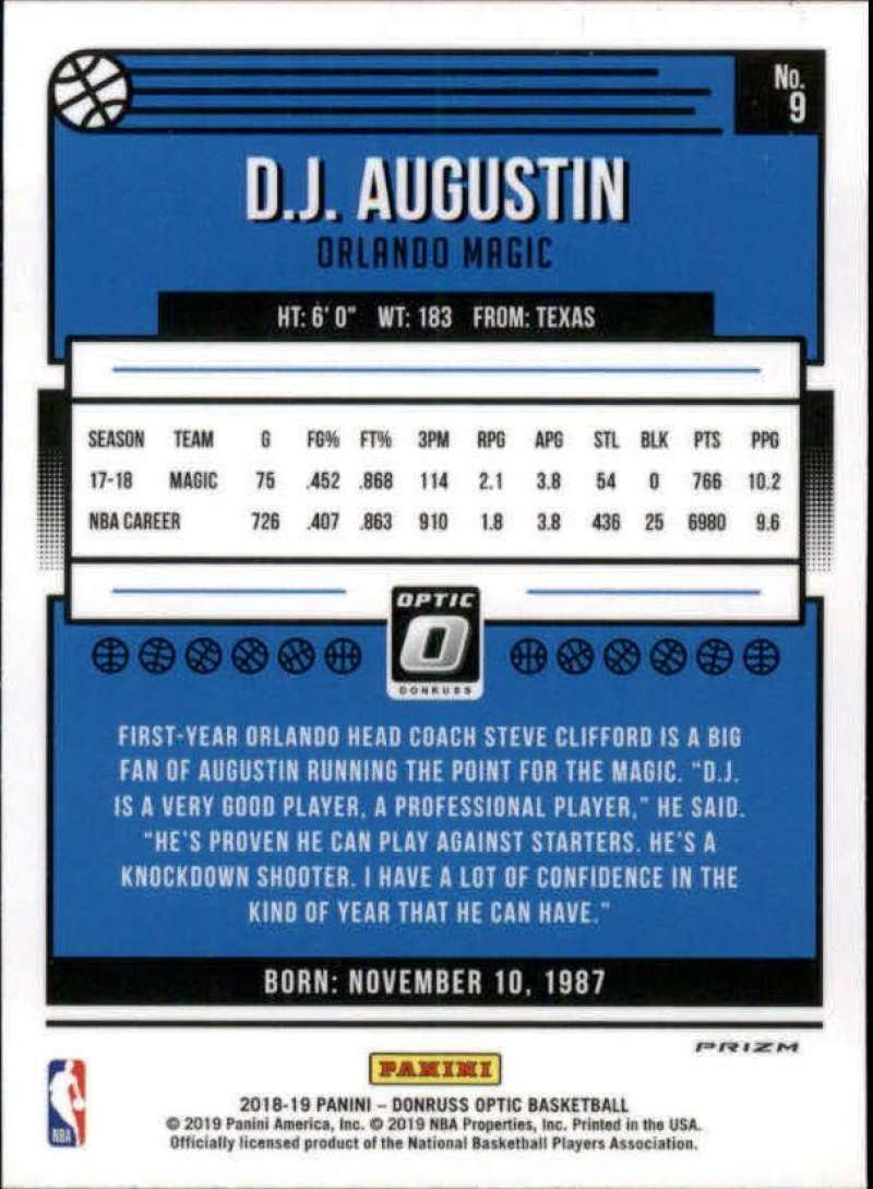 2018-19-Donruss-Optic-NBA-Basketball-Blue-Velocity-Singles-Pick-Your-Cards thumbnail 19