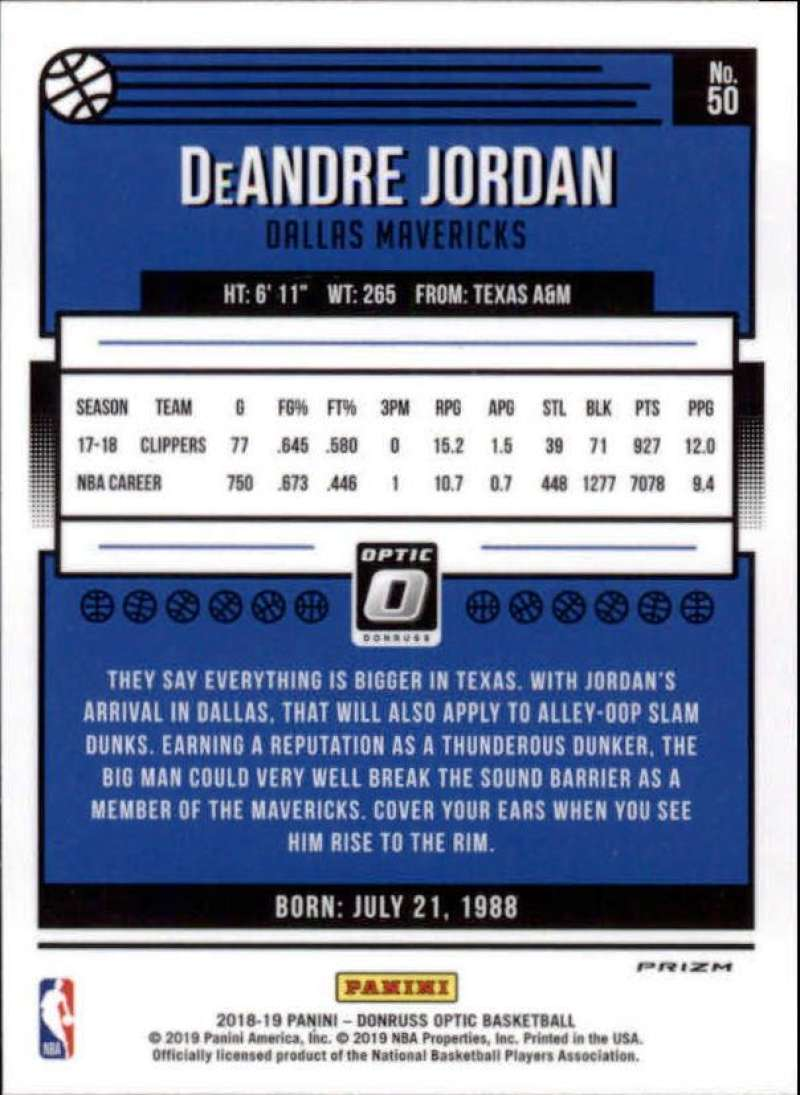 2018-19-Donruss-Optic-NBA-Basketball-Blue-Velocity-Singles-Pick-Your-Cards thumbnail 89