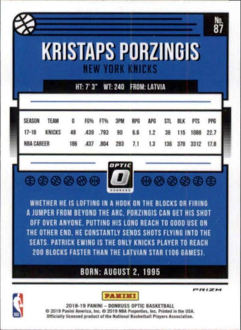 2018-19-Donruss-Optic-NBA-Basketball-Blue-Velocity-Singles-Pick-Your-Cards thumbnail 157
