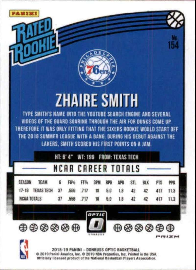 2018-19-Donruss-Optic-NBA-Basketball-Blue-Velocity-Singles-Pick-Your-Cards thumbnail 279