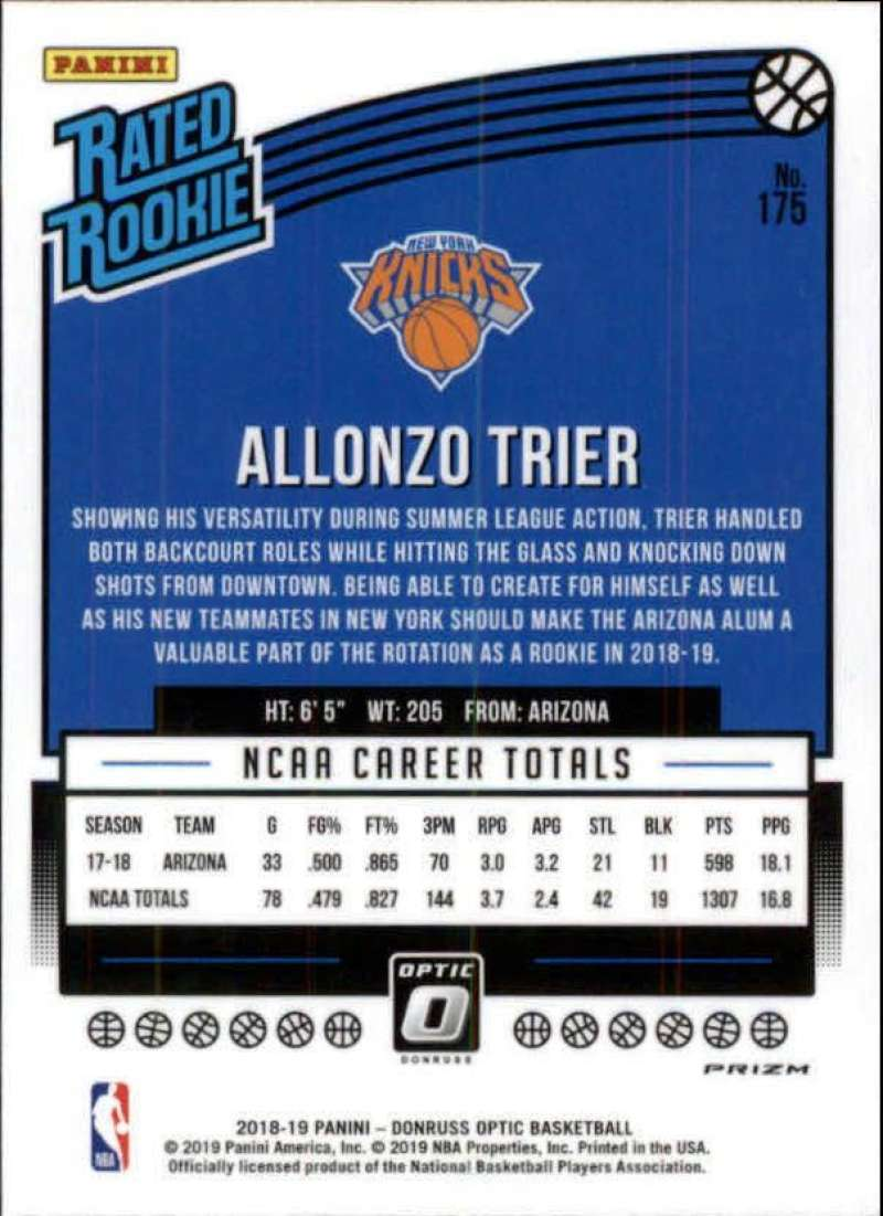 2018-19-Donruss-Optic-NBA-Basketball-Blue-Velocity-Singles-Pick-Your-Cards thumbnail 319