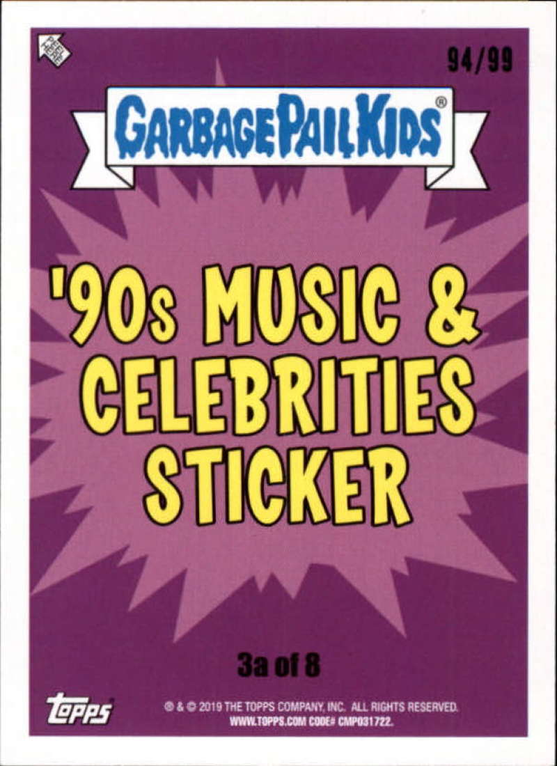 "We Hate The 90s Bruised Parallel Singles /""U Pick/"" 2019 Topps Garbage Pail Kids"