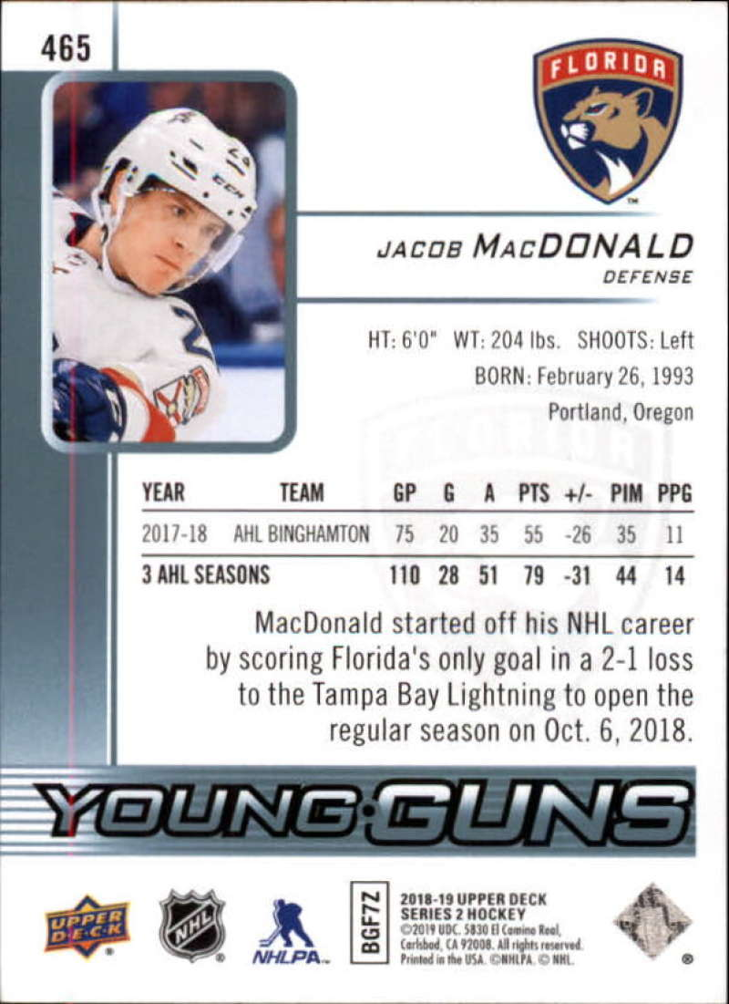 2018-19-Upper-Deck-Series-2-NHL-Hockey-Young-Guns-Base-Singles-Pick-Your-Cards miniature 31