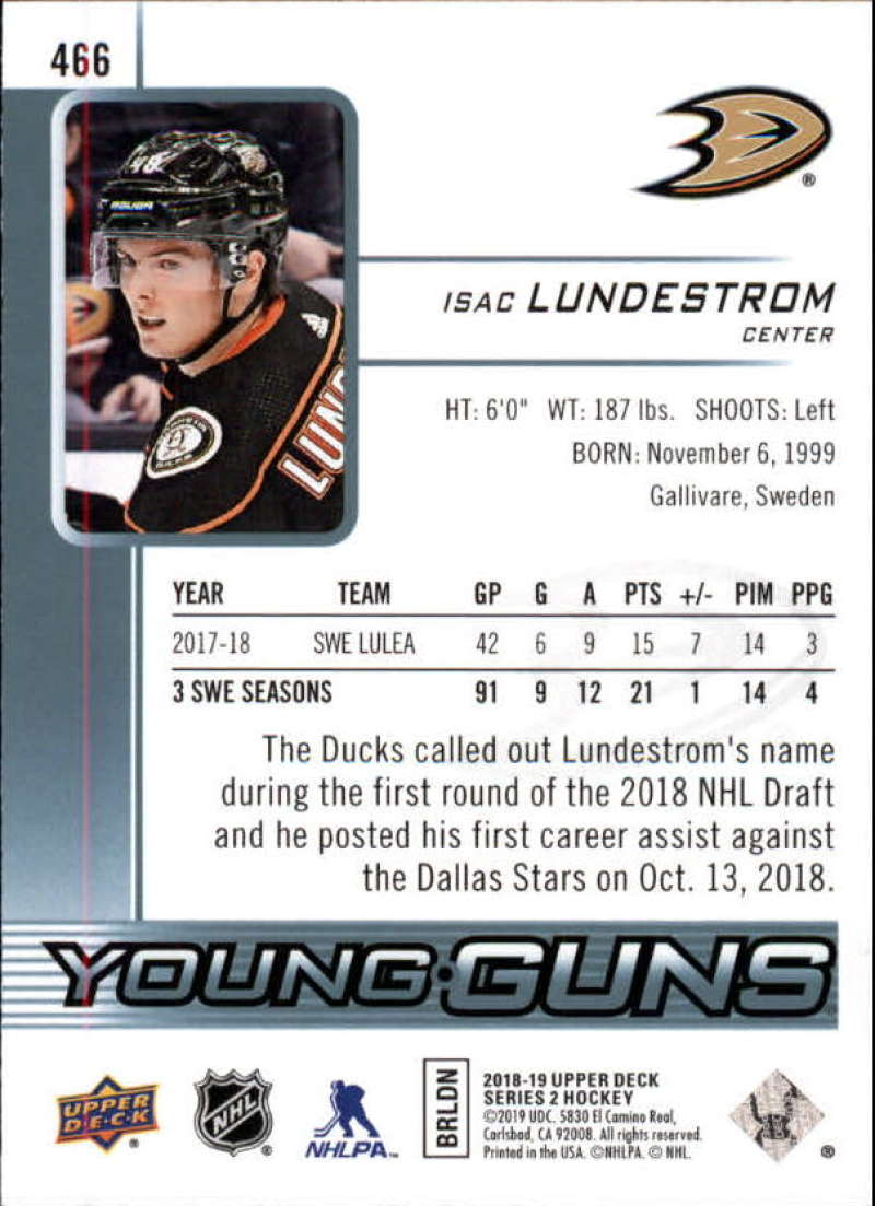 2018-19-Upper-Deck-Series-2-NHL-Hockey-Young-Guns-Base-Singles-Pick-Your-Cards miniature 33