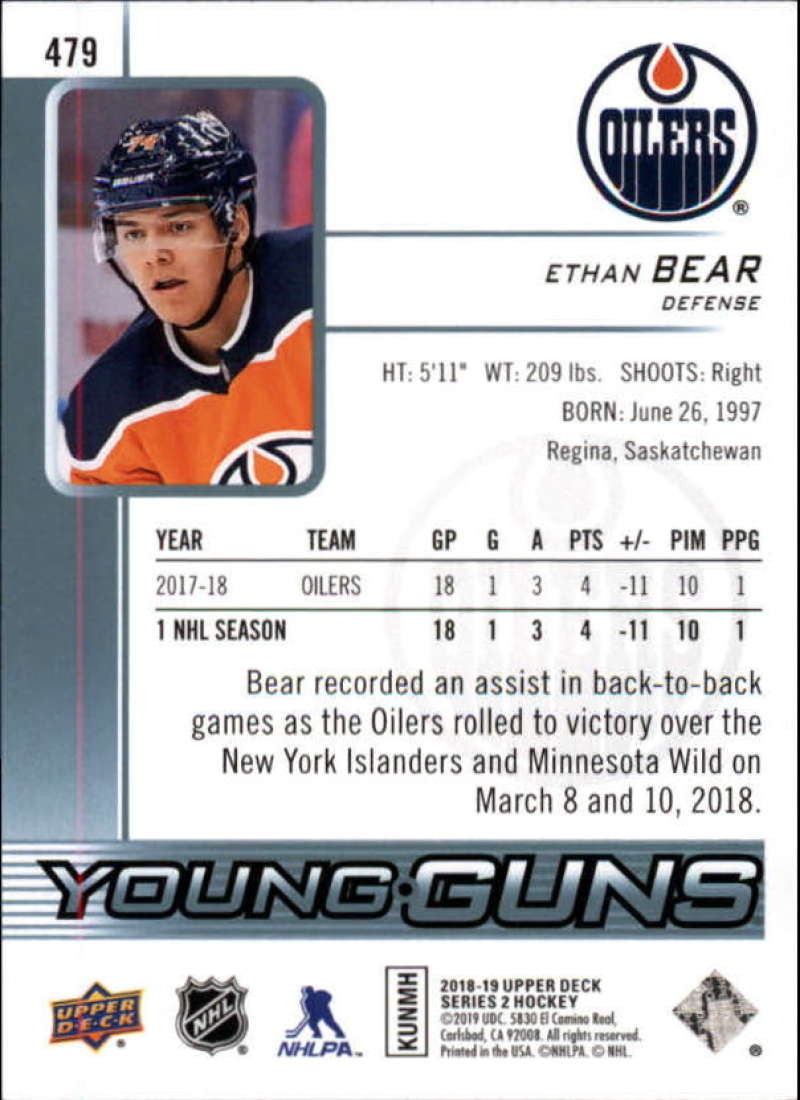 2018-19-Upper-Deck-Series-2-NHL-Hockey-Young-Guns-Base-Singles-Pick-Your-Cards miniature 49