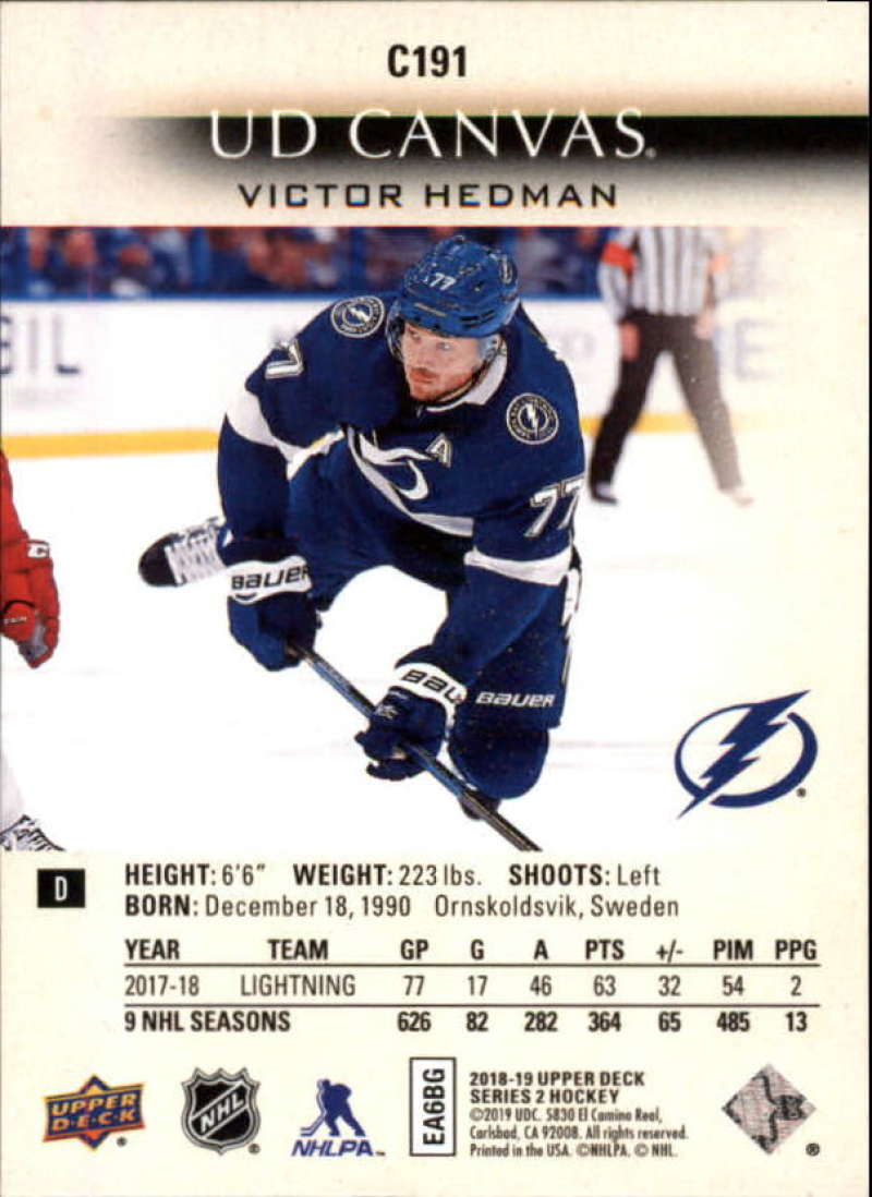 2018-19-Upper-Deck-Series-2-Hockey-Canvas-Insert-Singles-Pick-Your-Cards miniature 67