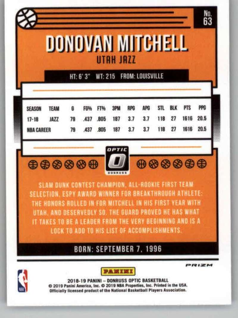 2018-19-Donruss-Optic-Basketball-Purple-Parallel-Singles-Pick-Your-Cards thumbnail 27