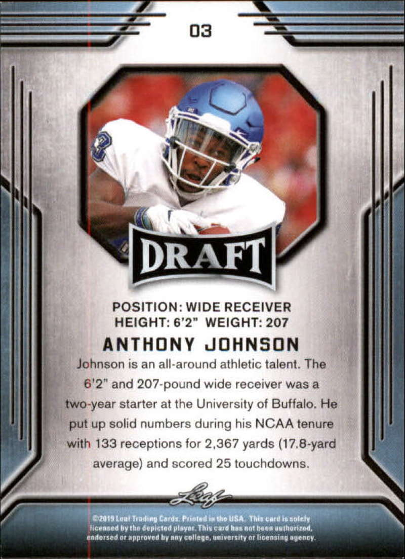2019-Leaf-Draft-Football-Base-Singles-1-90-Pick-Your-Cards thumbnail 7