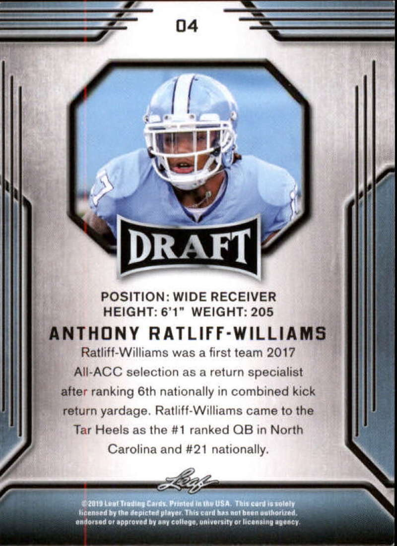 2019-Leaf-Draft-Football-Base-Singles-1-90-Pick-Your-Cards thumbnail 9