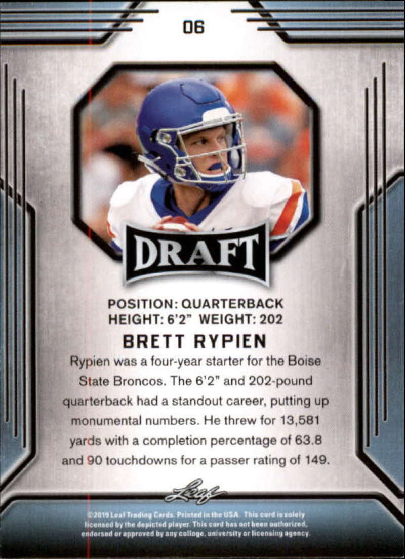 2019-Leaf-Draft-Football-Base-Singles-1-90-Pick-Your-Cards thumbnail 13