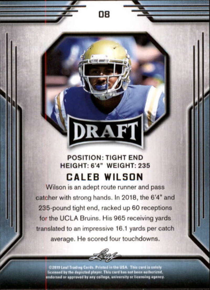 2019-Leaf-Draft-Football-Base-Singles-1-90-Pick-Your-Cards thumbnail 17