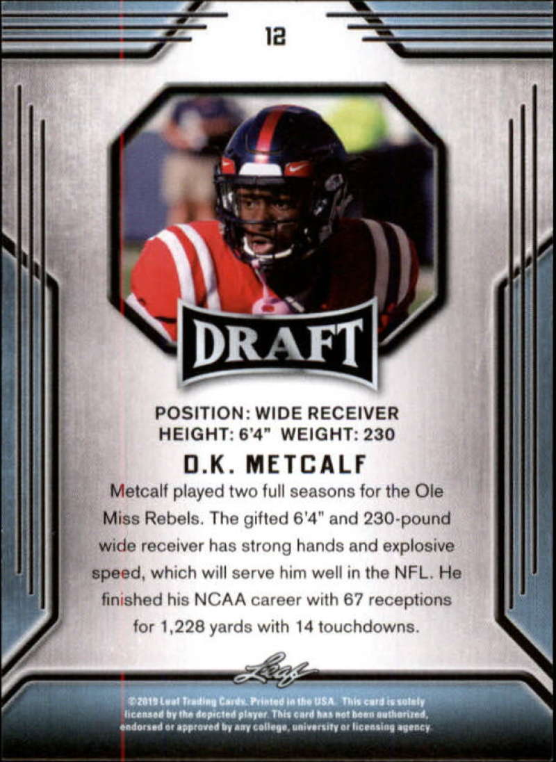 2019-Leaf-Draft-Football-Base-Singles-1-90-Pick-Your-Cards thumbnail 25
