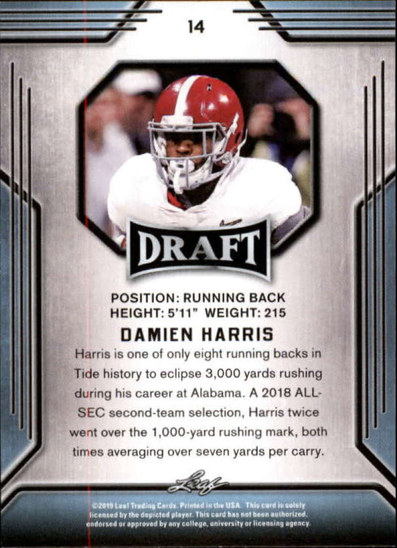 2019-Leaf-Draft-Football-Base-Singles-1-90-Pick-Your-Cards thumbnail 29